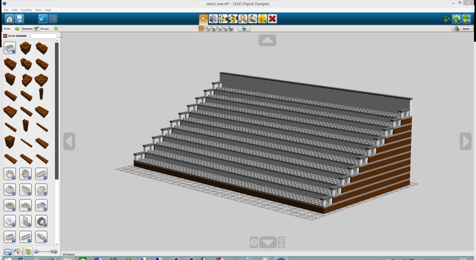 lego digital designer templates - wolfgang ziegler building a terrace for our lego minifigures